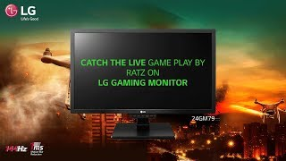 CS:GO Live Game Play (Ratz) - LG Gaming Monitor (24GM79- 144 Hz)