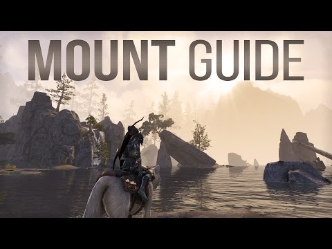 ESO Mount Guide - All you need to know about Mounts / Horses in the Elder Scrolls Online