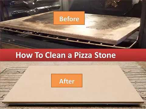 How To Clean A Pizza Stone- Cleaning Your Stone By Hand