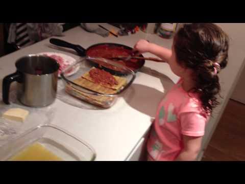 Trini cocina lasagna