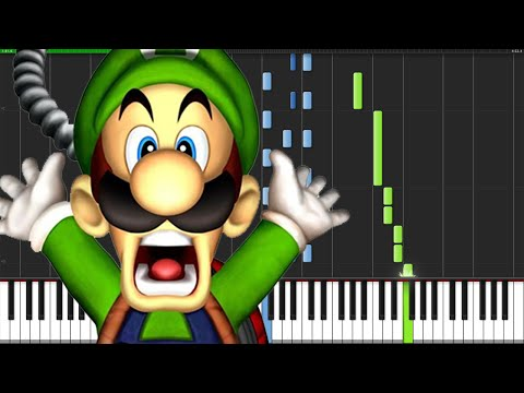 Luigi's Mansion Medley - Luigi's Mansion [Piano Tutorial] (Synthesia)