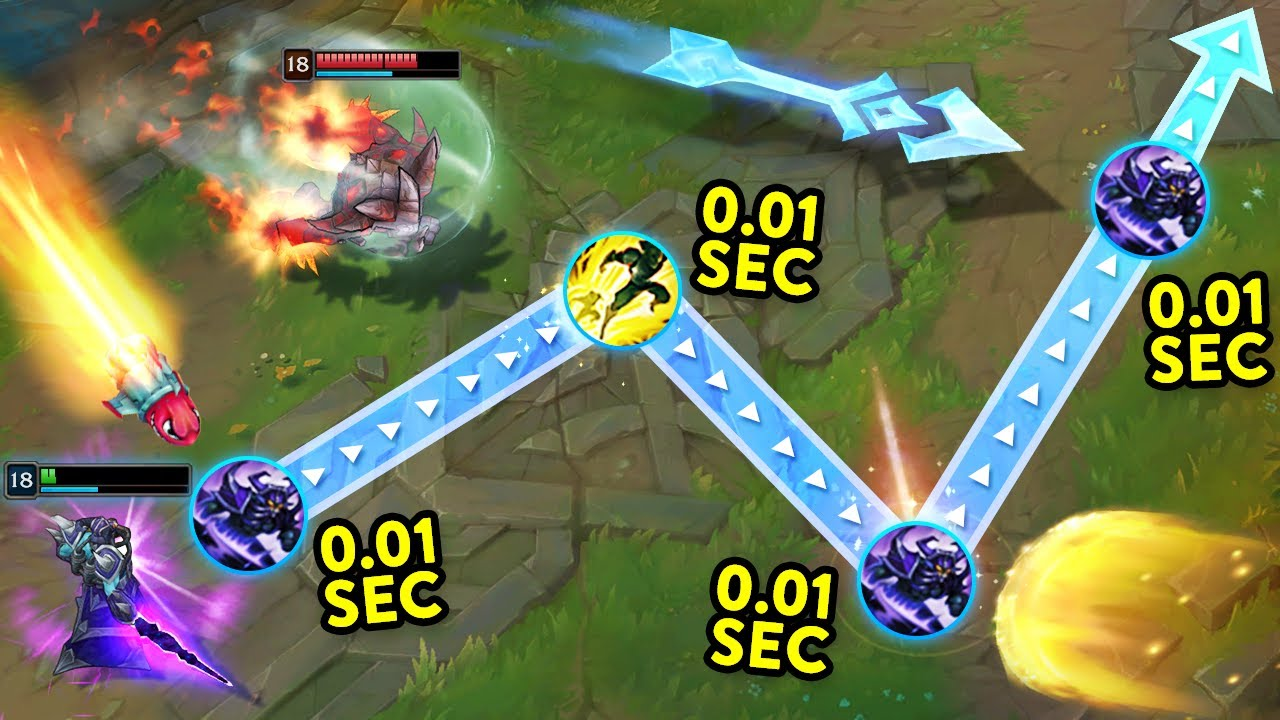 When LOL Players Have PERFECT Reflexes...