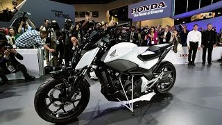 Honda Riding Assist Motorcycle (self-balance) World Premiere