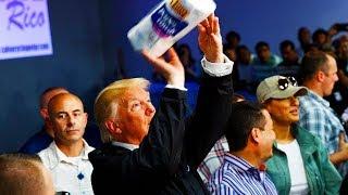 """Trump Defends """"Beautiful, Soft"""" Towels"""