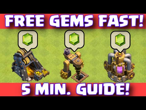 Clash Of Clans FREE GEMS EASY FAST WAY TO EARN FREE GEMS | WORLD'S FASTEST EASIEST FREE GEMS