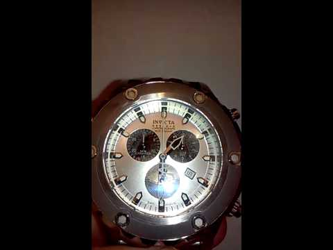 Setting Time and Date on the Invicta 5221