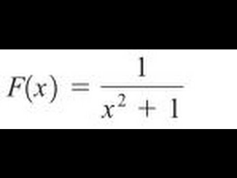 Express the function in the form f of g of h for 1/(x^2+1)