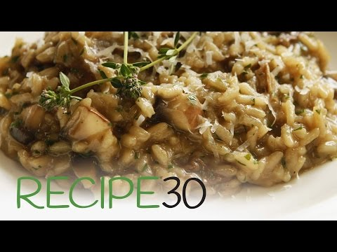Perfect Mushroom Risotto - By RECIPE30.com