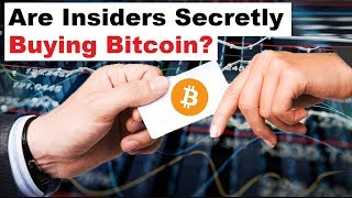 Are Insiders Secretly Loading Up on Bitcoin?