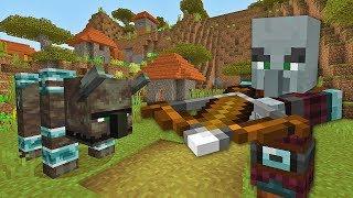 Minecraft Xbox | PILLAGER RAID [445]
