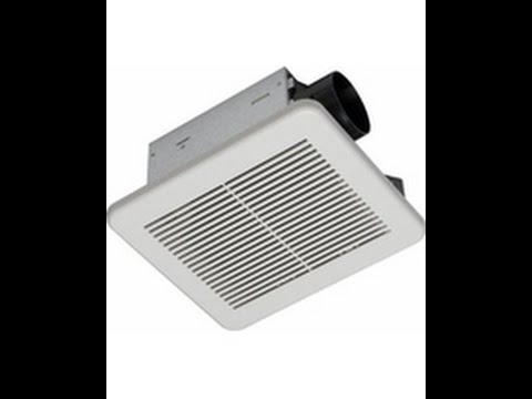 How to Install a bathroom exhaust fan - Hampton Bay BPT18-54A-1