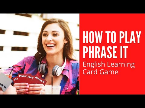 How to Play Phrase It English Language Games Activity Teaching Resource