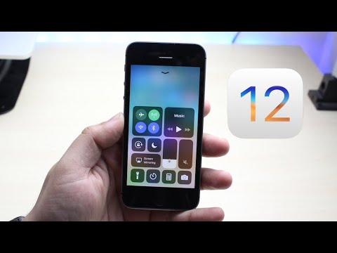 iOS 12 BETA On iPHONE SE! (Review)