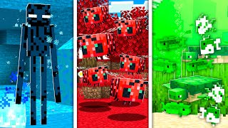 Using only ONE COLOR in MINECRAFT! - Build Battle Challenge