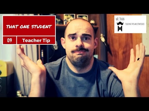 How to teach your most difficult students | Teaching Tip