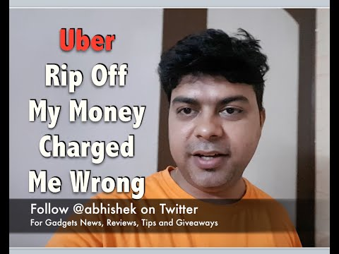 Hindi | Uber Rip Off My Money This Time, Happened Again, Driver Started Ride Without Me