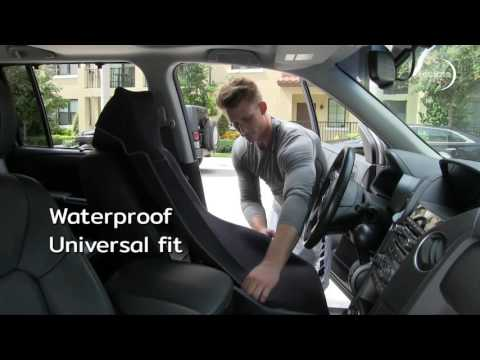Eclipse Waterproof Car Seat Cover - Installs in Seconds