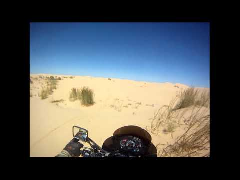 Kermit Sand Dunes KLR 650 Kawasaki KLR 650