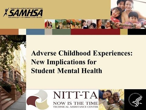 Adverse Childhood Experiences - New Implications for Student Mental Health