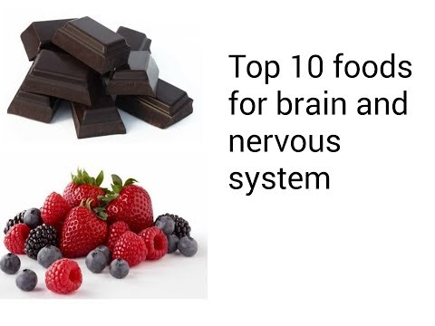 Top 10 foods for brain and nervous system