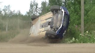 Neste Rally Finland 2017 | Crashes, mistakes, jumps & action