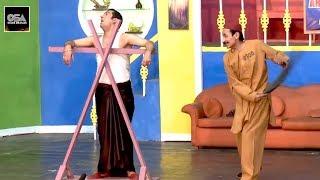 IFTIKHAR THAKUR NE ZAFRI KHAN KO MARA 2019 New Stage Drama Best Comedy Clip   Very Funny😂