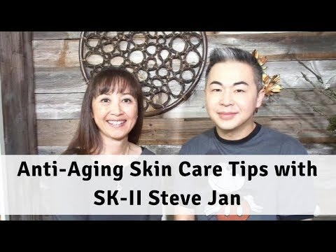 Anti-Aging Skin Care Tips with SK-II Steve Jan - Massage Monday #386