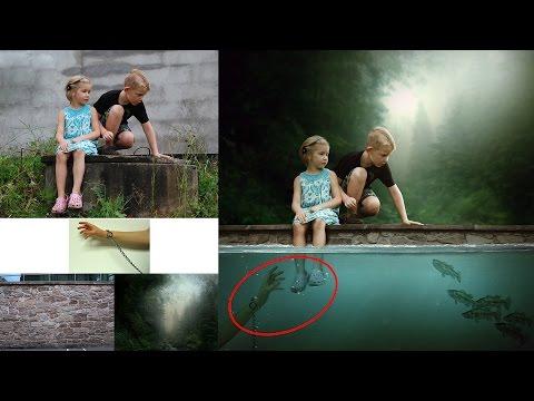 Dark Water - Photoshop CC Manipulation Tutorial (Underwater)