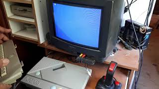 Carga de juegos en Atari XEGS