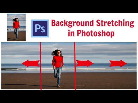 Background Stretching in Photoshop