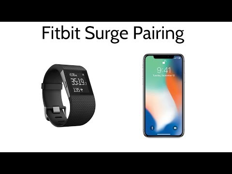 How to Pair Your FitBit Surge To iPhone 5 6 7 8 X