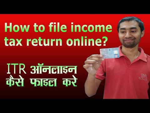 How to file income tax return (ITR) online in India for free?