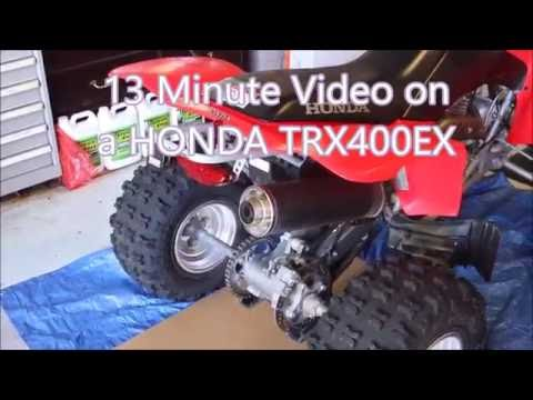 Honda Brake Fluid change out TRX400EX
