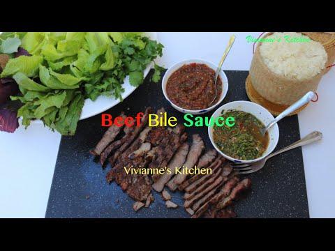 Lao Jeow Bee (Beef Bile Sauce) - Vivianne's Kitchen