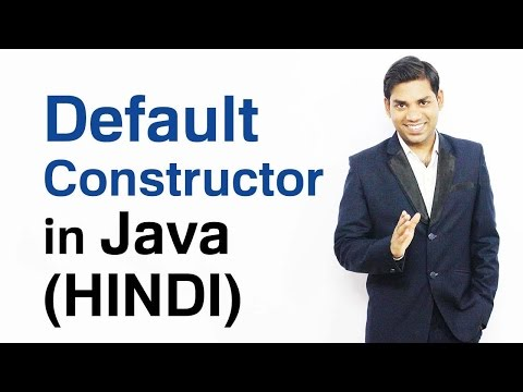 Default Constructor in Java (HINDI/URDU)