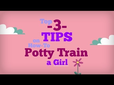 Potty Training Tips for Girls | Learn How to Toilet Train a Girl with Ease!