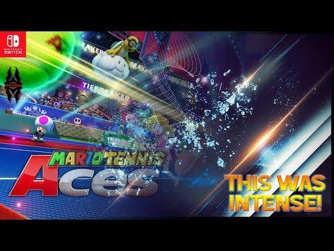 【Mario Tennis Aces】This was Intense! (Rosalina Gameplay)