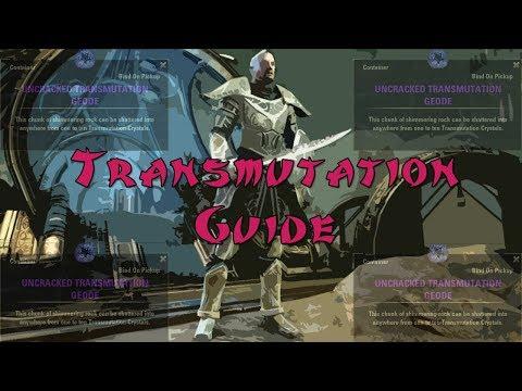 Quickest Transmutation Crystal Guide - Elder Scrolls Online: Clockwork City