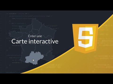 Tutoriel Javascript : Carte interactive en SVG