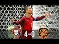 Portugal Vs Spain 4 0 All Goals Extended Highlights 17112010 HD