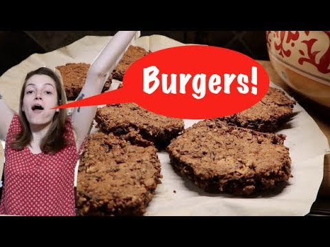 Burgers For the Hungry Boy/Girl! (vegan!)