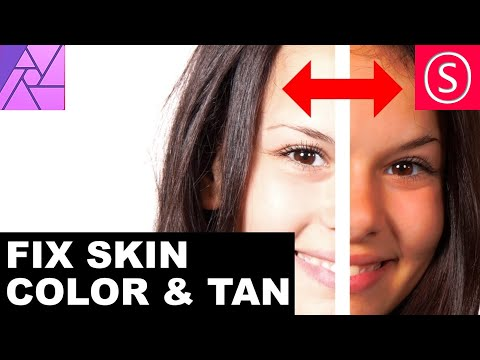 Affinity Photo - Skin Color & Tan