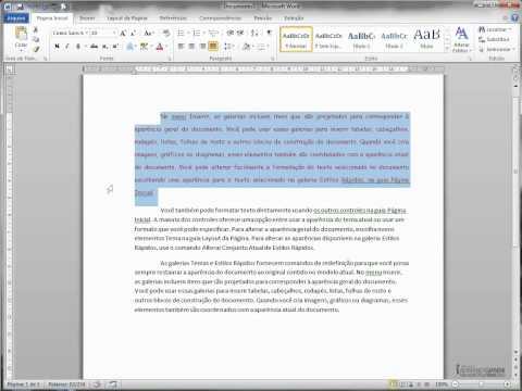 Microsoft Word 2010 - Pincel de Formatação
