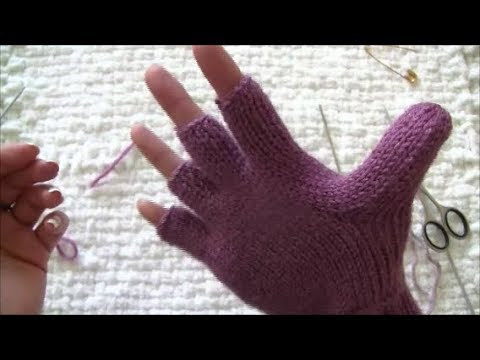 Magic Loop for gloves