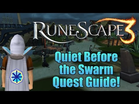 Runescape 3: Quiet Before the Swarm Quest Guide!