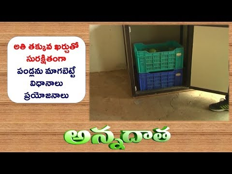Low Cost Ripening Chamber | by Sangareddy Scientists || ETV Annadata
