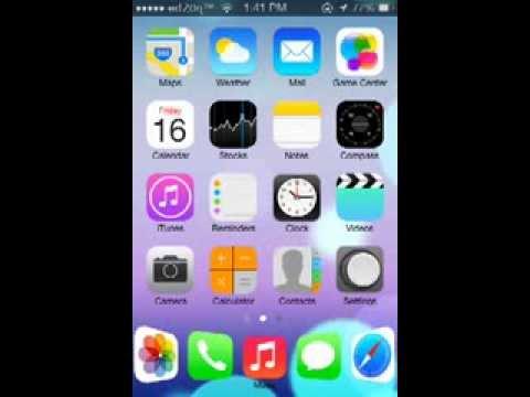 ios 7 on Iphone 3gs THEMES