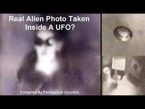 Real Alien Photo Taken Inside A UFO?