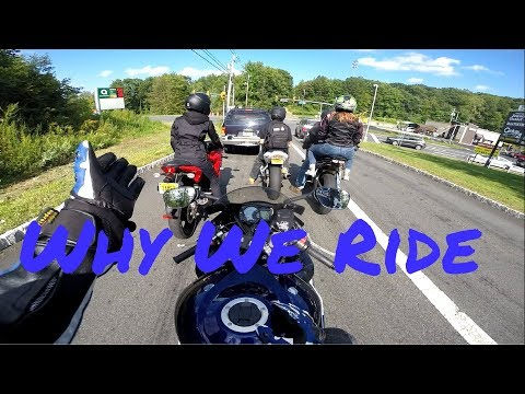 Why People Ride Motorcycles