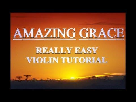 AMAZING GRACE | Easy Violin TAB Tutorial